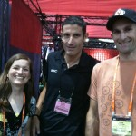 Rubbing elbows with cycling celebs in Vegas. Which one is George Hincapie again?