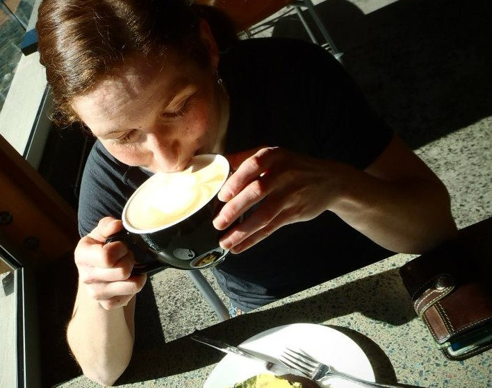 The Cappuccino is a theme in my life... Photo: Jean Ann Berkenpas