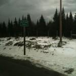 Snow at Le Massif near Baie-St-Paul.